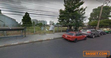 ขายที่ดินพร้อมสิ่งปลูกสร้างติดถนนสายลวด ตรงข้ามกับโรงพยาบาลสัตว์ปากน้ำ
