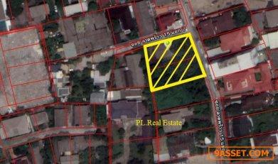 ขายที่ดินในซอยลาดพร้าว15เนื้อที่ 399 ตร.ว.แปลงมุมใกล้ MRT ลาดพร้าว
