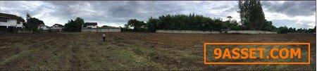 ขายที่ดินเปล่า ซอยราษฎร์อุทิศ 8 ต.หนองหอย อ.เมือง จ.เชียงใหม่ เนื้อที่ 6 ไร่ 1 งาน 8.5 ตร.วา