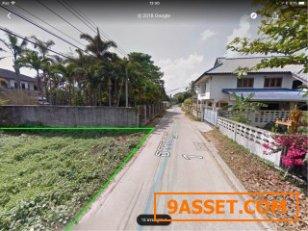 ขายที่ดินในเมืองพิษณุโลก245ตรว ต.ในเมือง จ.พิษณุโลก ซอยธรรมบูชา ตรว ละ12500