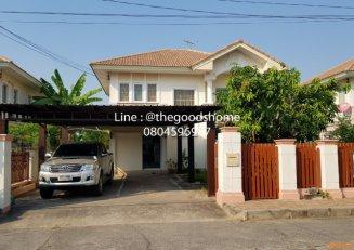 ขายบ้านเดี่ยว หมู่บ้านภัสสร  4  ชอย 56  ถนนรังสิต - นครนายก   ประชาธิปัตย์   ธัญบุรี    ปทุมธานี