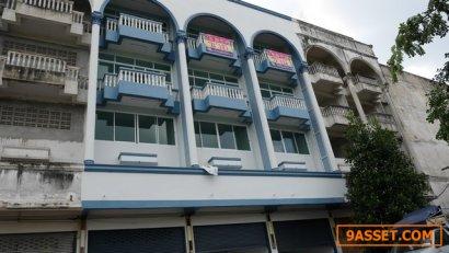 ขายตึกอาคารพาณิชย์ระยอง 3 คูหา ติด รพ ศรีระยอง บ้านดอน ถนนสาย 36