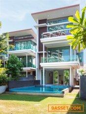 ขาย บ้านริมทะเล บางแสน โครงการ casalunar paradio ใหม่ ไม่เคยเข้าอยู่