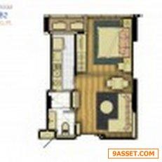 ขายคอนโดฯ ลาดพร้าว Life Ladprao18 ใกล้Mrt ลาดพร้าว ห้อง 40ตร.ม. 1นอน ชั้น8 ราคาดีสุด