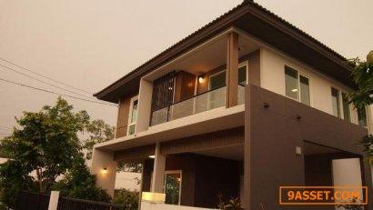 ขายบ้านเดี่ยว หมู่บ้านชัยพฤกษ์ รามอินทรา วงแหวน 2 บ้านใหม่สวย หลังมุม 70 ตรว
