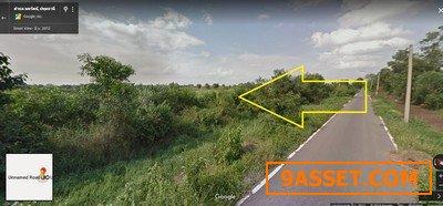 ขายที่ดินติดถนนลาดยางอยู่ คลอง 12 หนองเสือ 2 ไร่ เข้า ไฟฟ้าครบ เหมาะปลูกบ้าน ทำการเกษตร