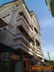 ขายอพาร์ทเม้นท์ ซอยจรัลฯ24 จำนวน15 นอน 15 น้ำ ค่าเช่า 3,500-4,,000ต่อห้อง