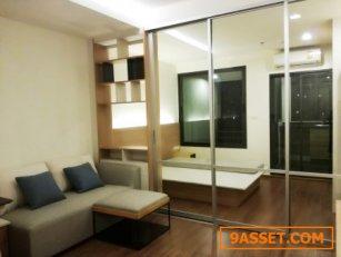 ขายถูก ชั้น 10 ห้องใหม่ เฟอร์ครบ วิวสะพาน ทิศตะวันออก คอนโด U Delight Residence Riverfront พระราม 3