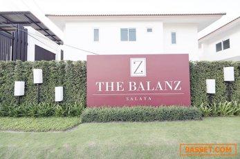 ขายด่วน บ้านเดื่ยวThe Balanz 52.5ตรว. 2ชั้น ใกล้ม.มหิดลและเซ็นทรัล ศาลายา เดินทางสะดวก