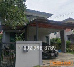 D6477013  ขาย บ้านเดี่ยว  บุราสิริ วงแหวน-อ่อนนุช Burasiri Wongwaen-Onnuch บ้านใหม่