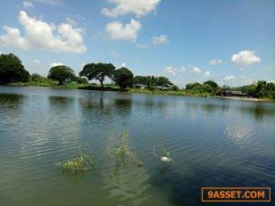 ขายที่ดินริมน้ำคลองวัดตูม อ.พระนครศรีอยุธยา 529 ตรว. ที่ดินสวยมาก ติดน้ำ 2 ด้าน