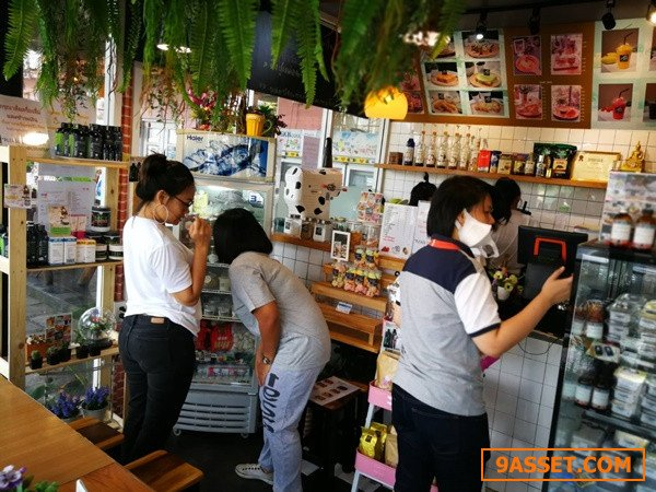 เซ้งร้านนม-กาแฟ-บิงซู อุปกรณ์ครบ @ติดถนน ราชพฤกษ์ และใกล้มหาวิทยาลัย ราชพฤกษ์ ( นนทบุรี )