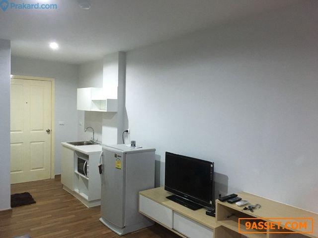 ให้เช่าคอนโด ไมอามี่บางปู (ถูกกที่สุดในตึก!!!) เฟอร์+เครื่องไฟฟ้าครบ (ห้องมุมใหม่ป้ายแดง) ราคาพิเศษ