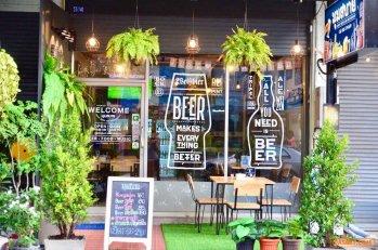 เซ้งด่วน‼️ ร้านอาหารคราฟเบียร์ @ตลาดสี่มุมเมือง แหลมฉบัง ร.พ.วิภาราม (ชลบุรี)
