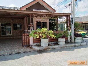 ขายบ้านแฝด-หมู่บ้านทรัพย์ธานี-ถนนรังสิต-นครนายก-คลอง9