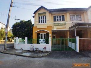 บ้านแฝด 2ชั้น หมู่บ้าน อักษรา บางบัวทอง