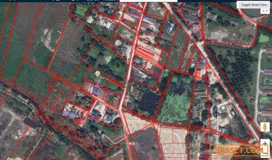 ต้องการขายที่ดิน 1 ไร่ 56 ตรว (เจ้าของขายเอง) ไร่ละ 3.8 ล้านบาท ค่าโอนออกคนละครึ่ง