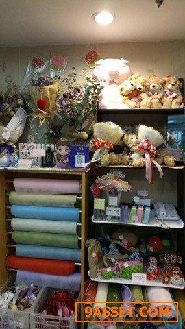 เซ้งร้านดอกไม้ ในโรงพยาบาลศิริราช มีอุปกรณ์พร้อม