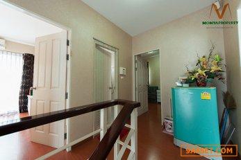 ขายบ้านเดี่ยว 2 ชั้น หมู่บ้านลิฟวิง นารา รังสิตคลอง 4 ขนาด3ห้องนอน 2 ห้องน้ำ