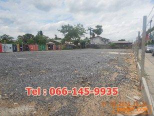 ขายที่ดิน 200 ตารางวา ใกล้สำนักงานเขตคลองสามวา โทร 066-145-9935