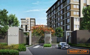 CM03087 ขายดาวน์ ดีคอนโด แคมปัส รีสอร์ท โดม-รังสิต เฟส 3 dcondo Campus Resort Dome-Rangsit Phase 3 คอนโดมิเนียม ถนนเชียงราก
