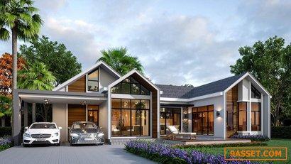 ประกาศ ขายบ้านโครงการ บ้านศรุตาปาร์ควิลล์หัวหิน ใกล้สนามกอล์ฟแบล็คเมาท์เทน บรรยากาศดีเยี่ยม