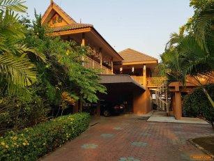 ขายบ้านทรงไทยร่วมสมัย อำเภอแม่แตง จังหวัดเชียงใหม่