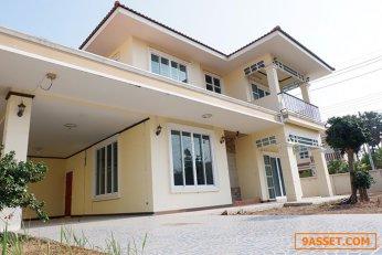 บ้านเดี่ยว 2ชั้น พื้นที่ 119 ตร.วา หมู่บ้านณัฐรียา ต้นมะม่วง อำเภอเมือง จังหวัดเพชรบุรี