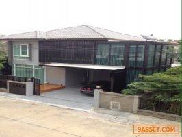ขายบ้านเดี่ยว คาซ่าเพรสโต้ ถนนราชพฤกษ์ พร้อมเฟอร์นิเจอร์ คุณภัทร  086-0878088