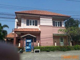 ขาย บ้านเดี่ยว 2 ชั้น หมู่บ้านสุนทรไพศาล 1 ใกล้ตลาดหนองแค