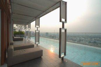 ขายคอนโด M PHYATHAI แบบ 3 ห้องนอน 2 ห้องน้ำ 115 ตรม ชั้น 33 penthouse .