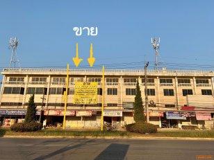 ขายอาคารพาณิชย์ 2คูหา ( 3ชั้น ครึ่ง ) ทำเลทอง นางแล เมืองเชียงราย