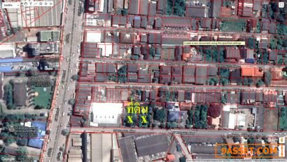 ขายที่ดินเปล่า ขนาด 365 ตรว.ซอยศรีวิชัย 21 เมืองสุราษฎร์ธานี เข้าซอยเพียง 50 เมตร ทำเลดีมาก
