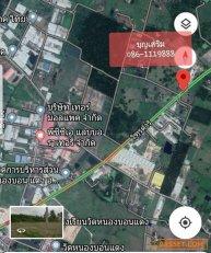 ขายที่ดินสวยพร้อมใช้ พื้นที่สีม่วง 5ไร่ บนถนนหลัก ตรงข้าม อบต.หนองบอนแดง อ.บ้านบึง จ.ชลบุรี