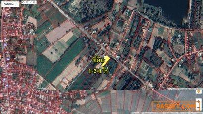 ขายที่ดินเปล่าพร้อมบ้าน 1 หลัง ติดถนนสาธารณะ ขนาด 1-2-0 ไร่ ซอยเทศบาล 18 ตำบลหนองไฮ อ.เมือง อุดรธานี ขายถูกมาก