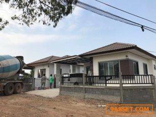 ขายบ้านเดี่ยวชั้นเดี่ยวโครงการใหม่เมืองชัยภูมิ ถนนหมายเลข 225 ใกล้ชุมชน