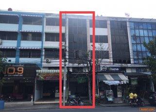 ขายอาคารพาณิชย์ 4 ชั้น ใกล้จุดขึ้นลงทางด่วน ถนนวงแหวนกาญจนาภิเษก