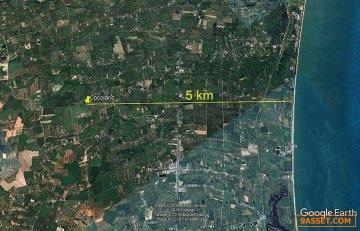 ขายที่ดินสวยราคาถูกพร้อมสวนมะพร้าว อ.เมืองประจวบคีรีขันธ์ ห่างจากถนนเพชรเกษมเพียง2.30กม.
