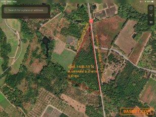 ขายที่ดิน ตำบลป่าซาง จังหวัดลำพูน เนื้อที่ 14 ไร่ 33 ตารางวา
