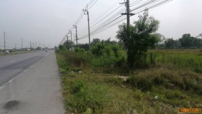 ขายที่ดินติดถนนสุวินทวงค์ใกล้สถานีตำรวจสุวินทวงค์ เนื้อที่ 37ไร่