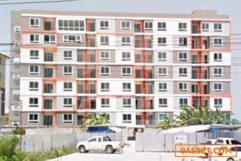 คอนโดมเนียม โครงการ เอป เนื้อที่ 32 ตร.ว. ถนนเพชรบุรี-หาดเจ้าสำราญ