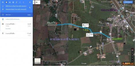 ขายที่ดิน9ไร่ หน้ากว้าง80ม.ต.ระโสม Tel:0818174659 ติดถนน3ด้าน ด้านหลังติดคลองหนองน้ำส้ม เข้าซอยหนองกรด1ถึงที่ดิน1.4กม. มีถนนคอนกรีต เข้าถึงที่ดิน มีน้ำประปาหมู่บ้าน, ไฟฟ้า ใก้ลคลองระพีพัฒน์ ,วัดระโสม,ตลาดหนองตาโล่,วิหารหลวงพ่อสำเร็จศักดิ์สิทธิ์