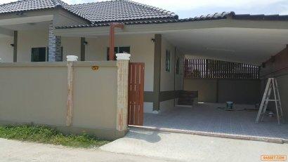 บ้านดีพร้อม ซอยเพชรเกษม 110 แยก 6 ,60 ตร.วาเต็ม เพียง 2.65 ล. บอกใครๆ อยู่บ้านดีพร้อม