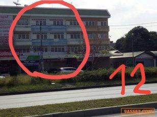 ขายตึก 4 ชั้น 2 คูหา ตำบลบางกร่าง อำเภอเมือง จังหวัดนนทบุรี