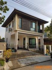 ขาย บ้านเดี่ยว 2 ชั้น ซอยหทัยราษฎร์ 41 หมู่บ้าน ฮาบิเทีย ออร์บิต หทัยราษฎร์ Habitia Orbit Hathairat  ถนนหทัยราษฎร์