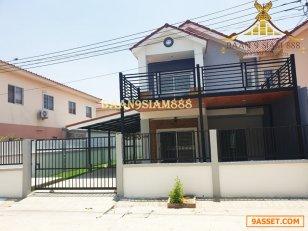 บ้านแฝด หมู่บ้าน สิวารัตน์9 บางบัวทอง