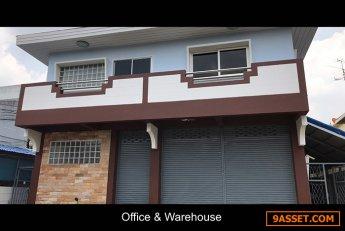 ประกาศเช่า อาคาร สำนักงาน 2 ชั้น บน ที่ดิน 200 ตรม พื้นที่ใช้สอย อาคาร 250 ตรม