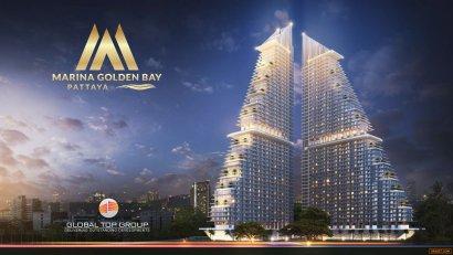 Marina Golden Bay Pattaya (มารีน่า โกลเด้น เบย์ พัทยา) - ใช้ชีวิตหรูหราในแบบที่แตกต่างเหนือคำบรรยาย