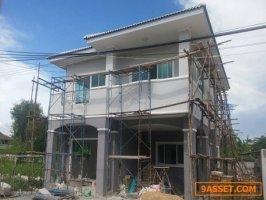ขายบ้านเดี่ยวจรัญ13 สร้างใหม่ ซอยบางแวก 120 หมู่บ้านกาญจน์ศิริ