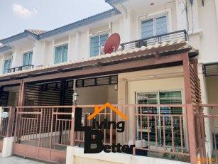 ขาย ถูก  ทาวน์เฮ้าส์ พฤกษาทาวน์ ราชพฤกษ์ ( Town House -  Pruksa Town   Ratchapruk) ติดถนนราชพฤกษ์ 065-494-0554
